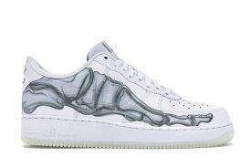 """ナイキ メンズ エア フォース ワン Nike Air Force 1 Low """"Skeleton Halloween"""" スニーカー White 高額レア"""