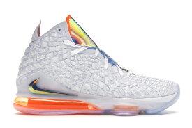 """ナイキ メンズ レブロン17 Nike LeBron 17 """"Future Air"""" バッシュ White/Tech Grey-Quasar Purple 高額レア"""