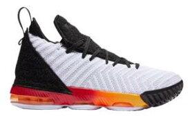"""ナイキ キッズ/レディース Nike LeBron 16 XVI GS """"Big Bang"""" バッシュ White/Laser Orange レブロン16 ミニバス"""