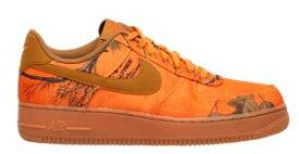 即納 ナイキ メンズ エアフォース1 Nike Air Force 1 LV8 スニーカー Orange Blaze/Wheat/Gum Medium Brown