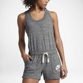 ナイキ レディース Nike Women's Gym vintage romper ロンパース Grey