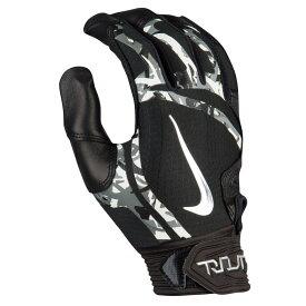 ナイキ メンズ 野球 Nike Trout Elite Batting Gloves バッティンググローブ Black/Black/Chrome