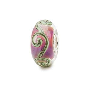 トロールビーズ Trollbeads トレイセズオブパープル Traces on Purple ガラス Glass ビーズ Beads ピープルズユニーク People's Uniques リミテッドエディション Limited Edition