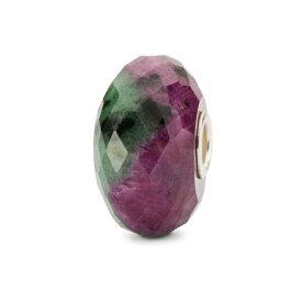 【新入荷】 トロールビーズ Trollbeads ルビーゾイサイト Ruby Zoisite 天然石 Gemstone ビーズ Beads ネイチャーズパワー Nature's Powers
