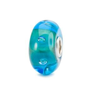 トロールビーズ Trollbeads ラグーンバブルジョイ Lagoon Bubble Joy ガラス Glass ビーズ Beads ニューウィズダム New Wisdom