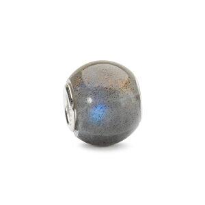 トロールビーズ Trollbeads ラウンドラブラドライト Round Labradorite 天然石 Gemstone ビーズ Beads