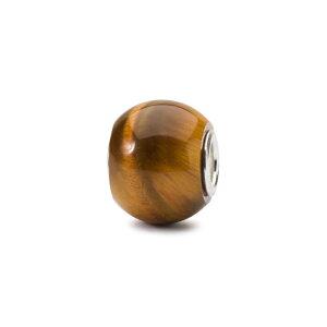 トロールビーズ Trollbeads ラウンドタイガーアイ Round Tiger Eye 天然石 Gemstone ビーズ Beads