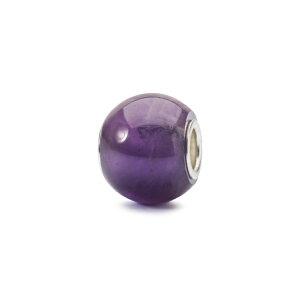 トロールビーズ Trollbeads ラウンドアメシスト Round Amethyst 天然石 Gemstone ビーズ Beads