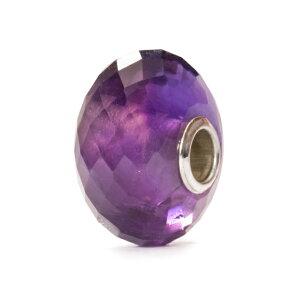 トロールビーズ Trollbeads アメシスト Amethyst 天然石 Gemstone ビーズ Beads