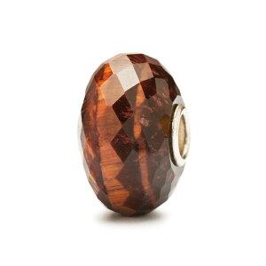 トロールビーズ Trollbeads レッドタイガーアイ Red Tiger Eye 天然石 Gemstone ビーズ Beads