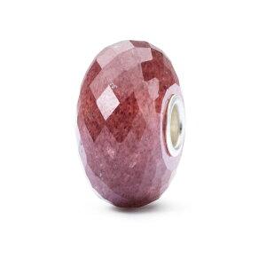 トロールビーズ Trollbeads ストロベリークォーツ Strawberry Quartz 天然石 Gemstone ビーズ Beads
