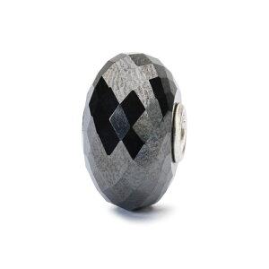 トロールビーズ Trollbeads スチールヘマタイト Steel Hematite 天然石 Gemstone ビーズ Beads