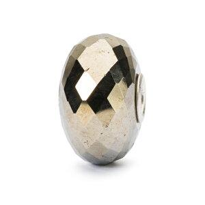 トロールビーズ Trollbeads パイライト Pyrite 天然石 Gemstone ビーズ Beads