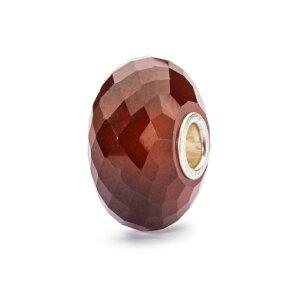 トロールビーズ Trollbeads ヘソナイトガーネット Hessonite Garnet 天然石 Gemstone ビーズ Beads
