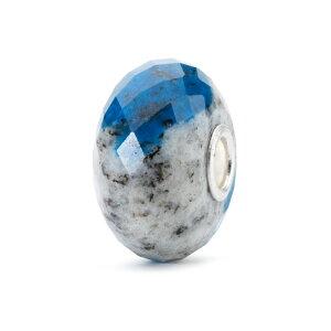 トロールビーズ Trollbeads フェルドスパーアズライトロック Feldspar Azurite Rock 天然石 Gemstone ビーズ Beads
