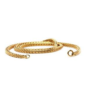 トロールビーズ Trollbeads ゴールドネックレス Gold Necklace 14金 K14 ユニセックス Unisex チェーン Chain 42cm
