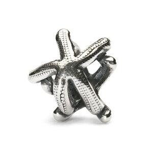トロールビーズ Trollbeads スターフィッシュ Starfish シルバー Silver ビーズ Beads