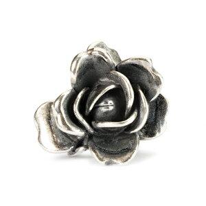 トロールビーズ Trollbeads ローズオブジューン(6月の誕生花) Rose of June シルバー Silver パール Pearl ビーズ Beads
