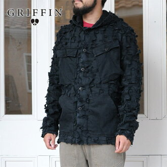 GRIFFIN辮子cut茄克(GFW08)30%OFF!!
