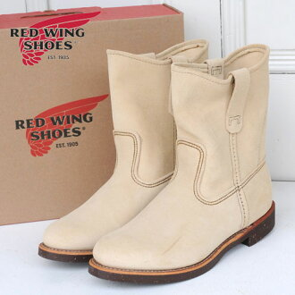 RED WING PECOS BOOTS (8184)