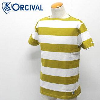 Orcival 圓領短袖 t 恤 (6.5 × 6.5 條紋) 男裝 30%的折扣 !