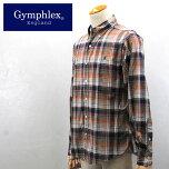 Gymphlex【ジムフレックス】マドラスチェックB/DシャツMen's【J-0643BGM】【楽ギフ_包装】【楽ギフ_メッセ入力】