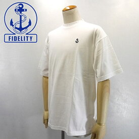 【20%OFF】 FIDELITY【フィデリティ】アンカー Tシャツ Men's【FD191CT12060】【楽ギフ_包装】【楽ギフ_メッセ入力】