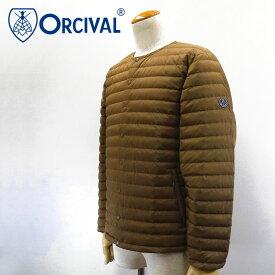 【30%OFF】Orcival【オーチバル】インナーダウン クルーネックジャケット Men's【RC-8094 DPT】【楽ギフ_包装】【楽ギフ_メッセ入力】