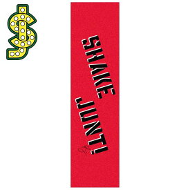 SHAKE JUNT(シェークジャント) CYRIL JACKSON PRO GRIP TAPE GREEN (RED) デッキテープ グリップテープ (1枚価格)【スケートボード/SKATEBOARD】