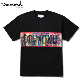【2020-3月入荷】Diamond Supply Co.(ダイヤモンド) ICON PANEL S/S T-SHIRTS (BLACK) TEE TS 半袖Tシャツ