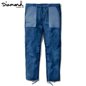 Diamond Supply Co.(ダイヤモンド) DENIM BUNKER PANTS (BLUE) デニムパンツ