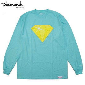 【セール/SALE-30】Diamond Supply Co.(ダイヤモンド) VECTOR DIAMOND L/S T-SHIRTS (DIAMOND BLUE) ロンTEE TS 長袖Tシャツ