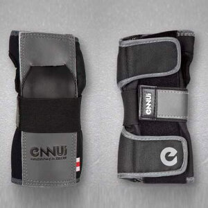 【Sサイズ】ENNUI (アンニュイ) ST wrist guard (BLACK) 手首用プロテクター【スケートボード/スケボー/SKATEBOARD】