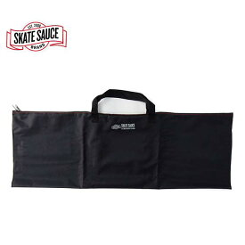 SKATE SAUCE(スケートソース) Protect Ya Deck PREMIUM Bag (BLACK) 携帯レインバッグ スケートボード専用ケース【スケートボード/SKATEBOARD】