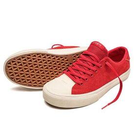 STRAYE(ストレイ) STANLEY (BEN BALLER RED SUEDE) スニーカー【国内正規取扱い店】
