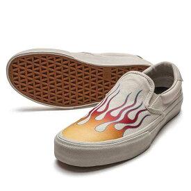 【2019SUMMER】STRAYE(ストレイ) VANTURA BONE FLAMES CANVAS SLIP-ON スニーカー スリッポン【国内正規取扱い店】
