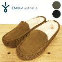 【2018AW】【正規品】 EMU Australia/エミュー/エミュ/TALIA PL W11089/シープスキンファー スエードモカシン/タリア PL/レディース/ム…