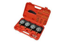 汎用 4連 バキュームゲージセット レギュレーター付 負圧測定器 特殊工具