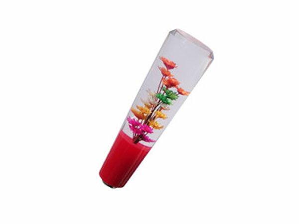 汎用 シフトノブ 水中花 レッド マニアル用 150mm デュトロ キャンター エルフ アトラス タイタン