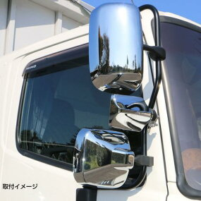 ☆新商品☆【JETバックショットミラーFUJI-4クロームメッキ】
