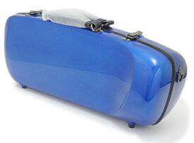 【数量限定特価!!】C.C.シャイニーケースII エアロトランペット用 シングルケース ブルー[BL]