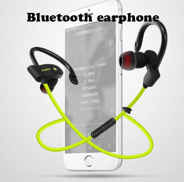 iPhone7 bluetooth 56S 耳かけタイプ イヤホン ブルートゥース イヤホン iphone7 アイフォン6 プラス iphone6 イヤホン bluetooth 高音質 ジム ランニング コードが邪魔な方へ スポーツ 音楽 両耳 ランニング