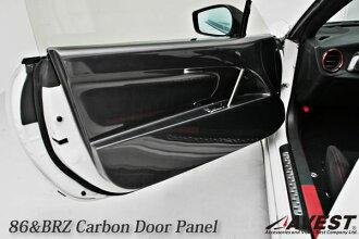 86 BRZ 碳內門板 AVEST