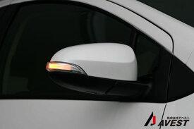 アクア NHP10 ドアミラー ウインカー レンズ aqua トヨタ toyota LED チューブ式 ウィンカー デイランプ 白[ウィンカー ドアミラー ドア ミラー 交換 車用品 カー用品 カスタム カスタマイズ パーツ 部品 led ウインカー diy]