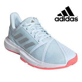 アディダス テニスシューズ レディース コートジャム バウンス CourtJam Bounce adidas FU8146 マルチコート