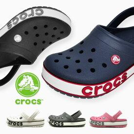 クロックス ボールド ロゴ クロッグ 国内正規品 crocs Crocband Blod Logo Clog クロックバンド メンズ レディース サンダル ラッピング不可 206021 4CC 02G 103 082 65Y