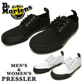 Dr.Martens ドクターマーチン2195100121951600PRESSLERプレスラーユニセックス メンズ レディース スニーカー ローカットシューズ 紐靴 綿
