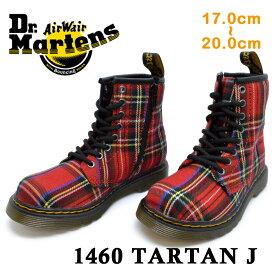 ドクターマーチン 正規品 Dr.Martens251896151460 TARTAN Jタータン ジュニアキッズ ジュニア 子供靴 ブーツ 秋冬 チェック