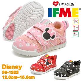 イフミー スニーカー キッズ ベビー Disney ディズニー ミニーマウス ミッキーマウス IFME 30-1323