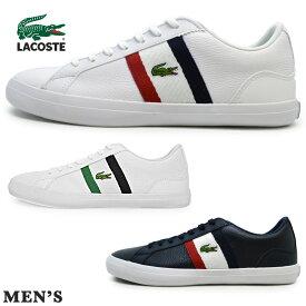 LACOSTE ラコステ CMA0045 394/042/7A2 LEROND 119 3ルロン 119 3 メンズ スニーカー ローカット レースアップシューズ 紐靴 運動靴 ランニング シンプル カジュアル 人気 男性 紳士靴 プレゼント ギフト レロンド